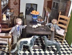 """Bryan placed the items on the table. """"It will be something to do with your vampire friend, mark my words"""" said Oscar waspishly. """"He'll have to go"""""""