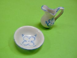 Blue Onion - which seems to be very expensive - can be copied onto plain white china.