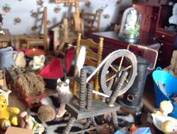 Vlad looked gloomily about in the cluttered attics. There was barely enough room to swing a cat'-o -nine -tails