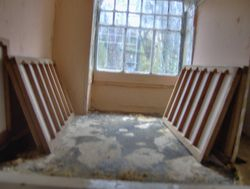 Enough for two rooms and real antique finish quarry tiles are ordered for the floors.
