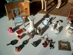 Quite a few of the items needed attention, which is what I have been doing before photographing.
