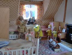 Dickie, Mary and friends were plotting some new adventure in the nursery.