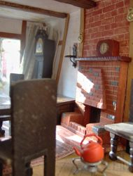 She especially loved the dining room fireplace - there had been one in the house that she had been brought up in as a child and she had fond recollections of that period of her life.