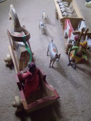 Both Marianne and Binkie had taken to driving their small carriages very dangerously.