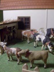 Spot the goat!