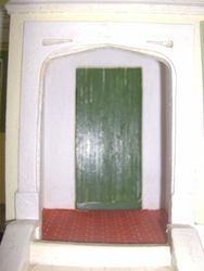 Front door - may make another one, a better one!