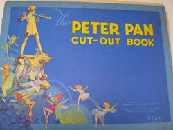 """Rosemary's copy of Dean's """"Peter Pan Cut-Out Book"""""""