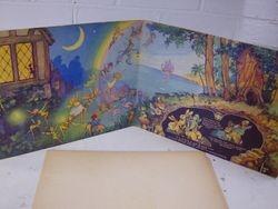 """Inside an intact Dean's """"Peter Pan Cut-Out Book"""""""