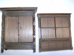 Smaller than the many other styles of the Triang / Elgin wardrobes