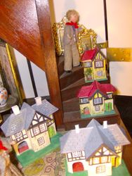 In fact, Oscar and Bryan were swamped in Triang dolls' houses at that very moment.