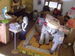 Arriving at Knaresbro'  Lodge, they carefully carried the box into the drawing room.