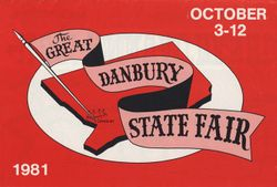 1981 Danbury State Fair program