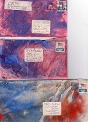 Lillian Roxon's envelopes