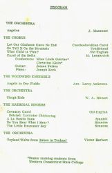 DHS 1967 Christmas Program--Pg. 1