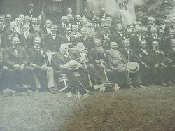 Close up 1898 Cincinnati OH reunion