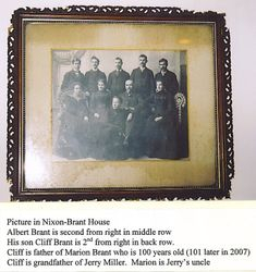 Albert Brant Family
