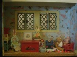 The nursery bay window