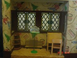 The sitting room bay window