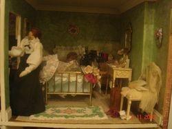 Gabrielle's boudoir