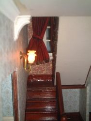 The new staircase