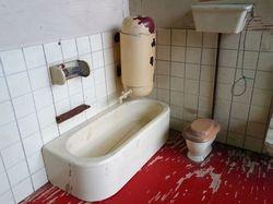 The twins bathroom