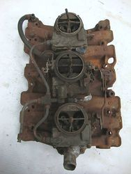 Very rare '66 W-30 tri pwr