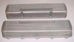 Custom cast aluminum valve covers