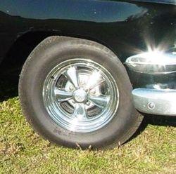 close up - drum brakes