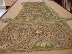 Scale Model Of The Villa