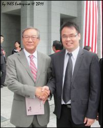 With Federal Court Judge Tan Sri James Foong