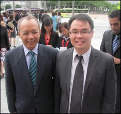 With YAA Tan Sri Arifin Zakaria, Chief Justice of the Federal Court of Malaysia