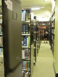 Well-equipped law library
