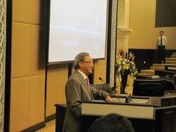 Tan Sri James Foong at Conference Hall