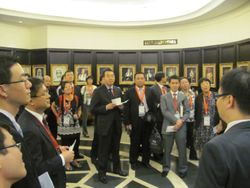 Briefing delegates on Malaysian legal system