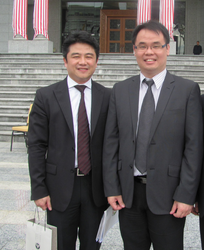 With Bar Council President Mr. Lim Chee Wee