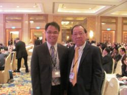 With VIP Guest Mr. Tan Koon Swan