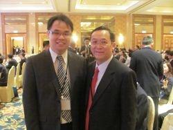 With VIP Tan Sri Dato' Leong Hoy Kum