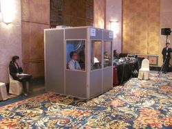 Interpreters' Booth
