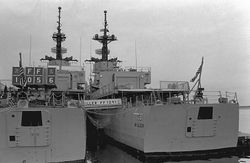 USS Connole and USS Miller in Newport