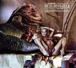 Scarlett Johannson as Jabba's Slave