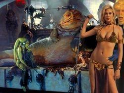 Kate Upton as Jabba's Slave