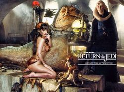 Katy Perry as Jabba's Slave