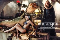 Natalie Portman as Jabba's Slave