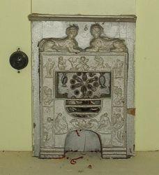 Battlement House fireplace 2