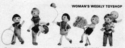 Boy dolls by Jean Greenhowe