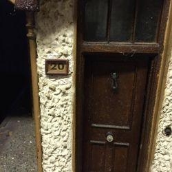 The side door, with number 20