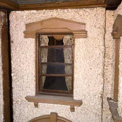 Window above door
