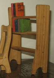 1960s pine bookcase