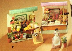 Greengrocer & Sweets Market Stalls