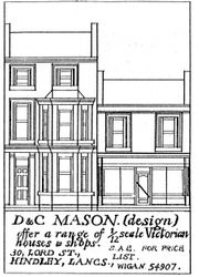 Ad in IDHN for D & C Mason, in 1981 (Spring & Autumn)